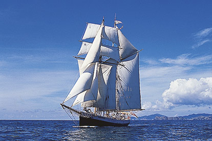 Tall Ship Sailing - R Tucker Thompson