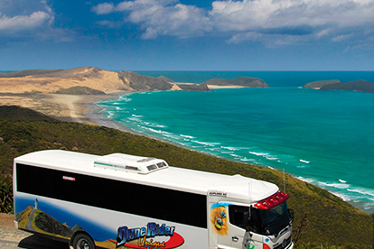 Cape Reinga via Ninety Mile Beach