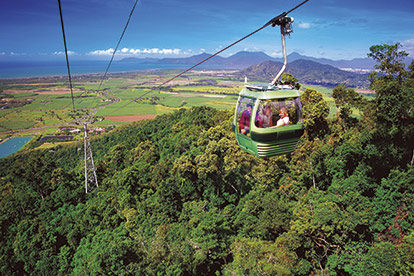 Kuranda, Skyrail and Tjapukai Day Tour (KQST)