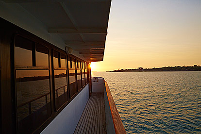 Charles Darwin Sunset Cruise