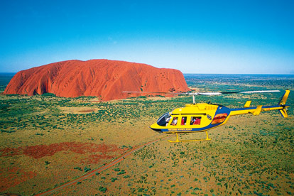 Ayers Rock Helicopter Flights