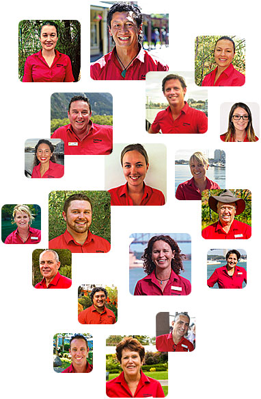 The faces of AAT Kings Staff